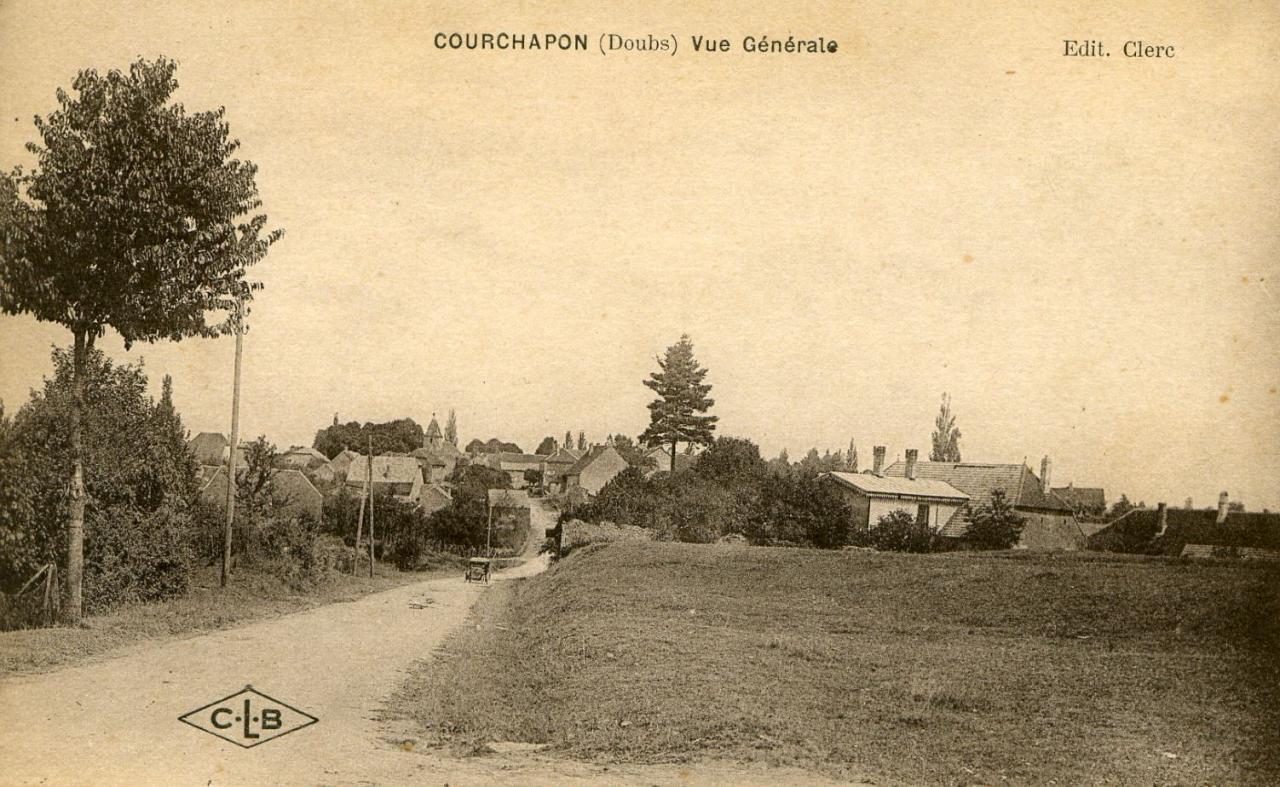 Courchapon vue générale 2