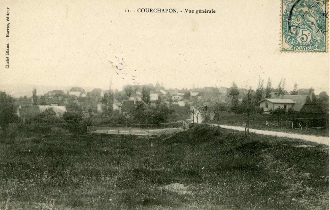 Courchapon Vue générale