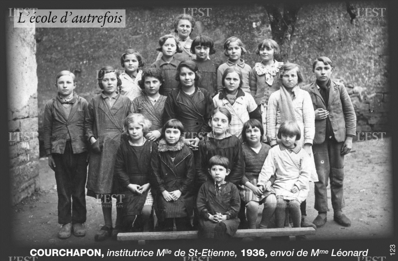 école courchapon 1936