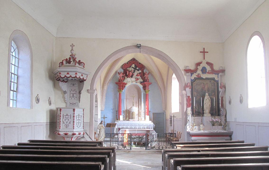 église courchapon