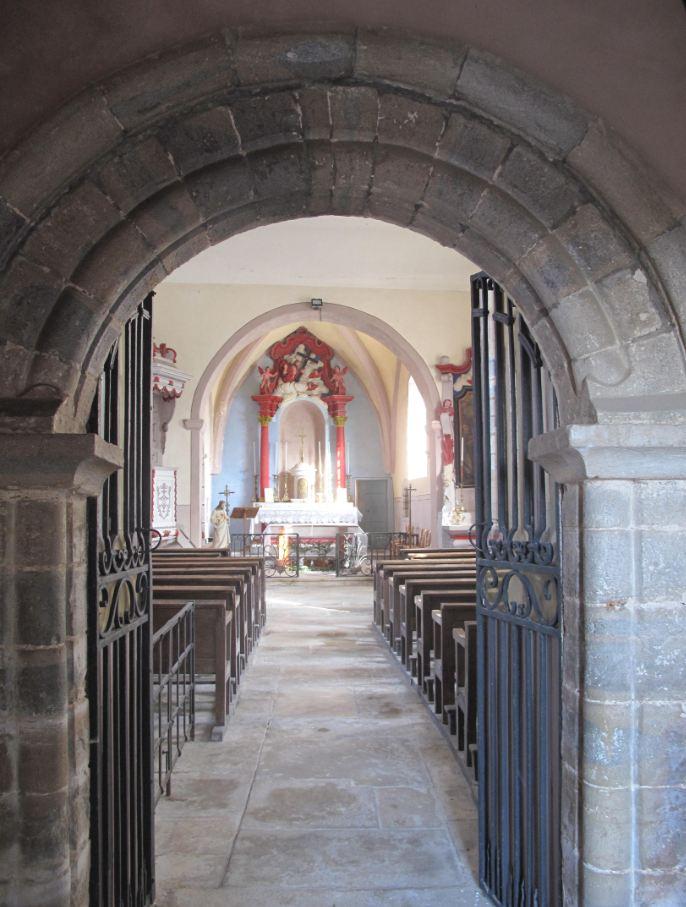église courchapon2