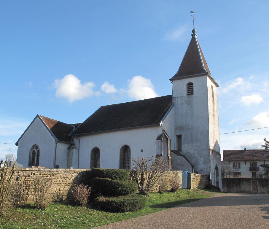 église courchapon3