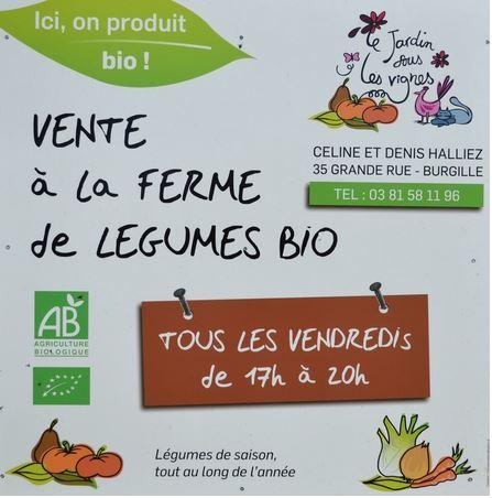 Burgille legumes bio